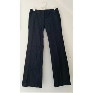 Loft || Petite Marisa Fit Dark Blue Gray Trousers